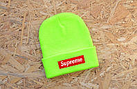 Модная яркая шапка суприм,Supreme Beanie
