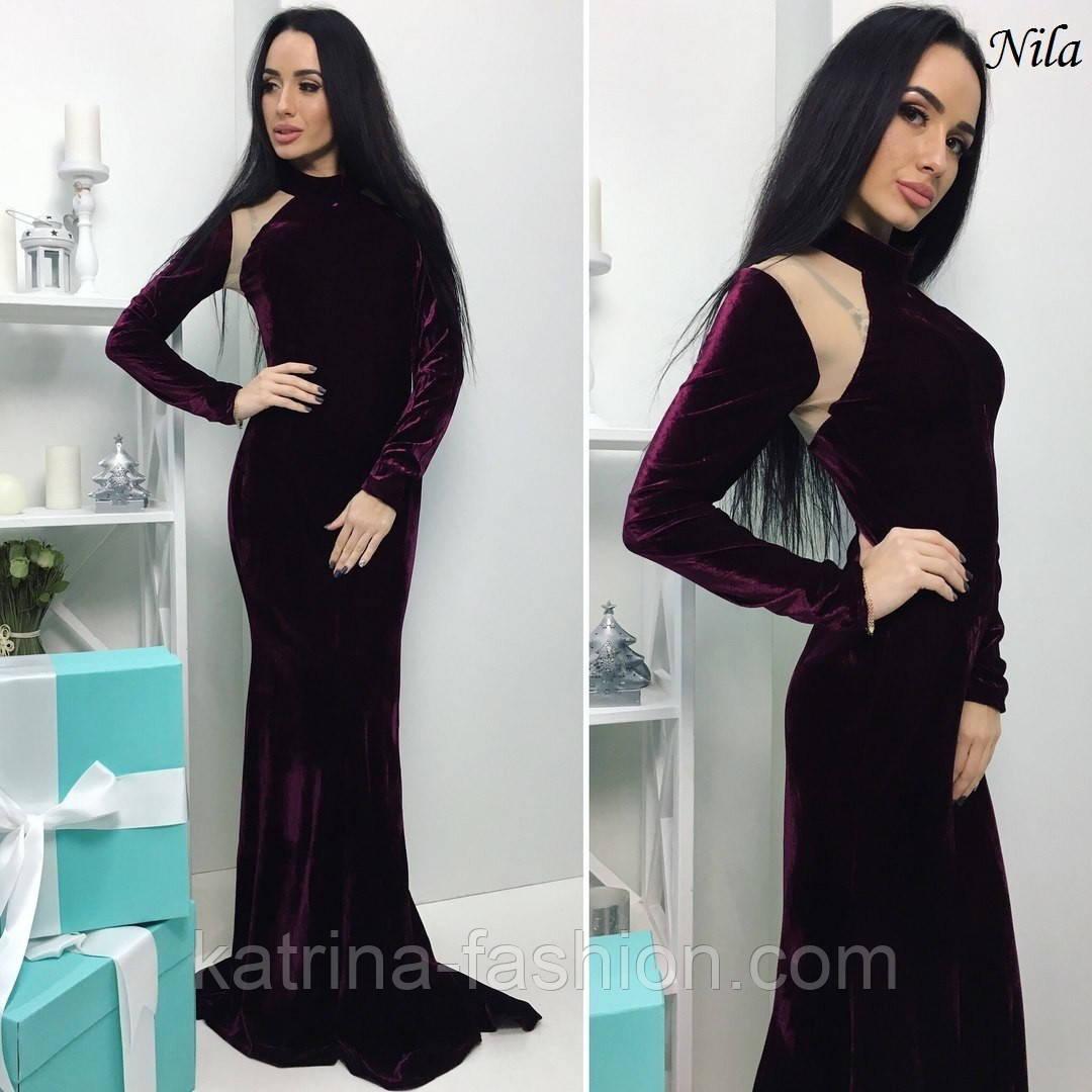 105e1587027 Женское нарядное платье в пол с сеткой (3 цвета)  продажа