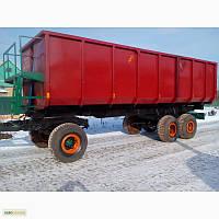 Полуприцеп самосвальный тракторный 1ПТС-12