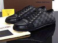 Мужские кожаные кроссовки Louis Vuitton