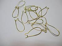 Швензи Перля 30 мм 5 пар (10 шт.) золото