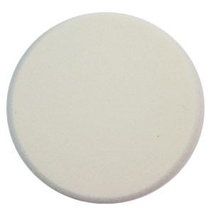 Malva Спонж M-004 для макияжа косметический круглый латекс (1шт) белый