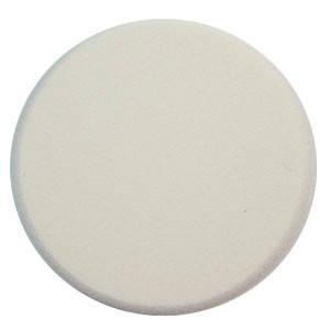 Malva Спонж M-004 для макияжа косметический круглый латекс (1шт) белый, фото 2