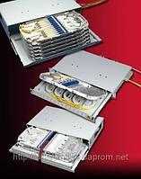 Оптичний крос на 24 волокна, FC/UPC  FIST-GPS2-I-IAС-2 (зрощування/комутація)
