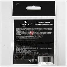 Malva Спонж M-004 для макияжа косметический круглый латекс (1шт) белый, фото 3