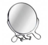 Зеркало круглое двустороннее с подставкой  21 см