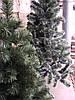 Искусственная елка (ель) 1,3 метра, ПВХ-Италия, пушистый ствол на подставке, фото 3