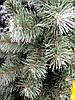 Искусственная елка (ель) 1,3 метра, ПВХ-Италия, пушистый ствол на подставке, фото 4