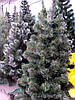 Искусственная елка (ель) 1,3 метра, ПВХ-Италия, пушистый ствол на подставке, фото 5