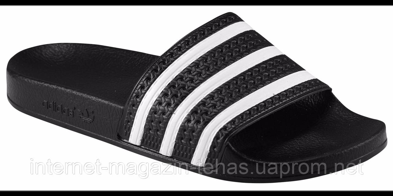 Тапочки мужские Адидас Adilette черные