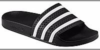 Тапочки мужские Адидас Adilette черные , фото 1
