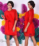 Красное платье с накидкой, комплект - двойка. 5 цветов.
