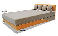 Кровать односпальная Сафари 90х200 с матрасом