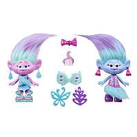 Игровая фигурка Модные Тролли-близнецы 22,5 см Hasbro