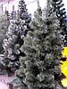 Искусственная елка 3 метра (ель) ПВХ-Италия, пушистый ствол на подставке, фото 2