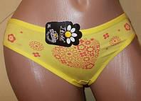 Трусики слип  р 48 L желтые арт8481