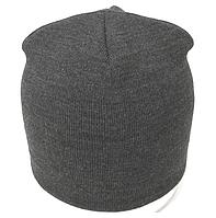 Зимняя шапка-чулок без надписей (серная)
