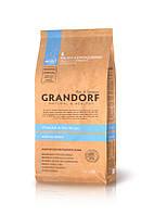 Grandorf Sensitive Care Holistic White Fish & Rice All Breeds корм для взрослых собак с белой рыбой, 1 кг