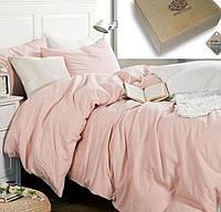 Двуспальное постельное белье, Лен 100% - Сапфир