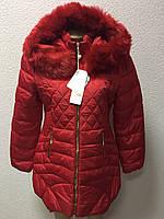 Женская красная куртка оптом, фото 1