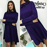 Женское модное платье асимметрия (3 цвета), фото 6