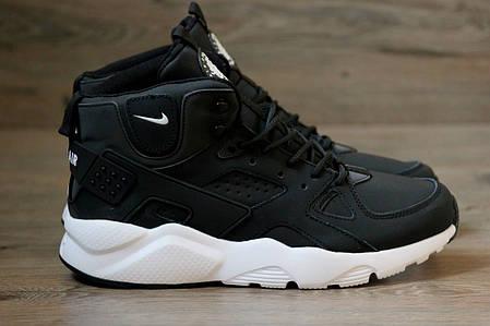 Мужские кроссовки Nike Huarache Winter черные топ реплика  продажа ... e116858a40b