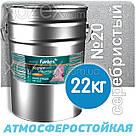 Фарбекс Farbex Краска-Эмаль ПФ-115 Серебристая №20 0,8кг, фото 3