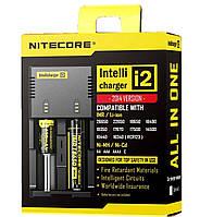 Универсальное зарядное устройство Nitecore SYSMAX Intellicharger I2