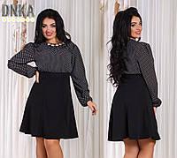 Женское платье батал № д 1231  (Гл)