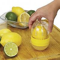 Мини соковыжималка для цитрусовых. Пресс для лимона и лайма Lemon Matic, фото 1