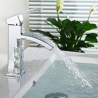 Смеситель кран в ванную комнату для умывальника однорычажный , фото 1