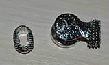 Застежка для браслета нуса с петлей, фото 2