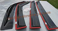 Дефлекторы окон (ветровики) EGR на Nissan Murano 2002-08 2шт