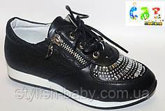 Детские школьные туфли бренда Meekone для девочек (разм. с 27 по 32)