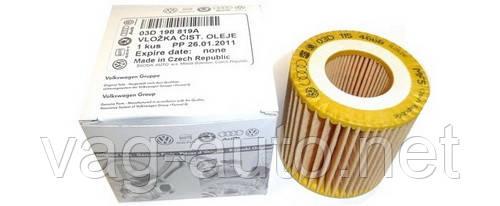 Фильтр масляный Skoda Fabia New, Roomster - 1.2 л
