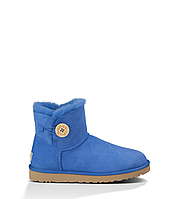 Сапожки UGG Mini Bailey Button Light Blue Оригинал