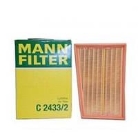 Воздушный фильтр MANN-FILTER C 2433/2, для Nissan  T31 J10