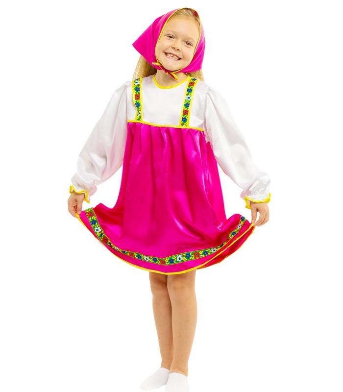 Карнавальный костюм Маши матрешки (3 - 8 лет)
