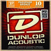 Струны Dunlop Phosphor Bronze Extra Light (010-048) для акустической гитары