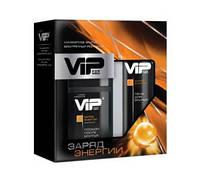 Набор VIP For Men Заряд энергии (пена для бритья 200 мл +лосьон после бритья 150 мл)