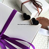 """Серьги """"Сердце Мини"""", в подарочной упаковке."""