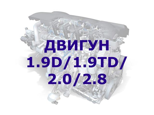 Помпа / водяний насос VW T4 1.9D/1.9TD/2.0/2.8 90-03