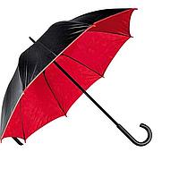 Зонт трость двухцветный Дракула Red