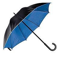 Зонт трость двухцветный Дракула Blue