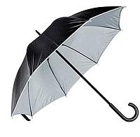 Зонт трость двухцветный Дракула Gray