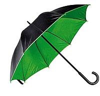 Зонт трость двухцветный Дракула Green