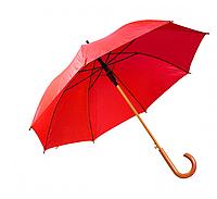 Зонт трость полуавтомат Алый