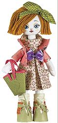 """Набор для шитья игрушки Текстильная кукла """"Хозяюшка"""" К1010"""