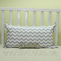 Бортики подушки в кроватку, Подушка 30х60 -02