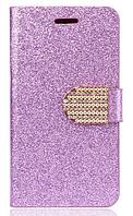 Чехол-книжка для Samsung Galaxy S5 mini G800 фиолетовый